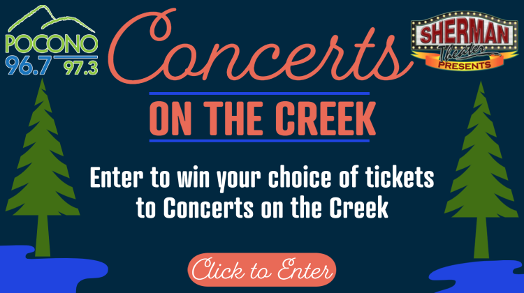 CONTEST: Concerts on the Creek
